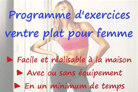 ceinture pour perdre du ventre femme sport programme d exercices ventre plat pour femme maigrir