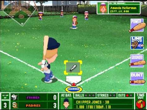 Backyard Baseball World Series Backyard Baseball 2003 Postseason Gameplay Divisional