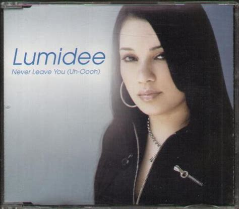 Cd Lumidee lumidee never leave you records lps vinyl and cds musicstack