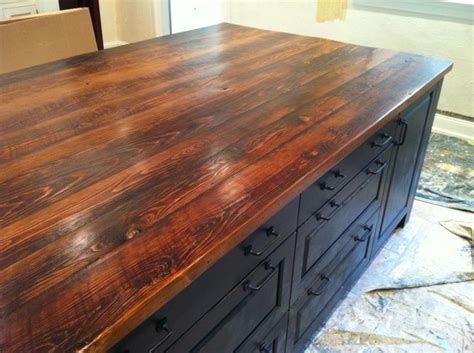 countertops barnwood stained any color exactly
