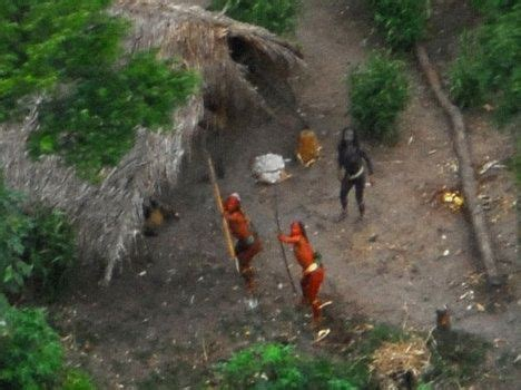 amazon tribe uncontacted amazon tribe is photographed treehugger
