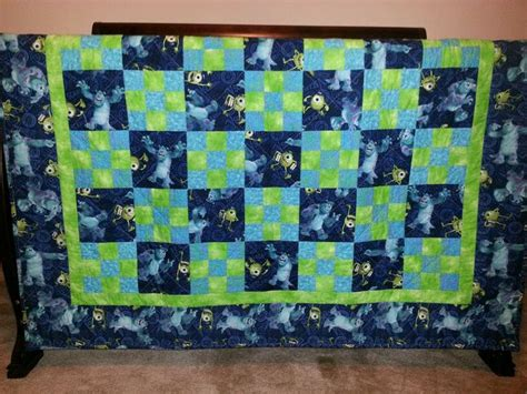 Monsters Inc Quilt by Monsters Inc Quilt Baby Shower