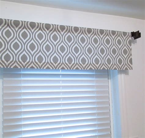 grey curtain valance raindrops gray white curtain valance soft cornice handmade in