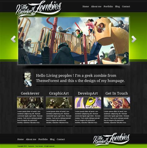 design game photoshop create a dark clean website design in adobe photoshop