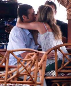 how to get my wife into swinging jennifer aniston shares a tender kiss with adam sandler