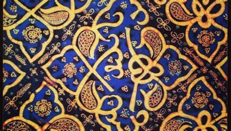 Kain Batik Cap Medan Biru hikayat kain batik dari tanah sumatera