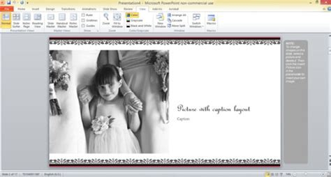 Free Wedding Photo Album Template For Powerpoint 2013 Powerpoint Album Template