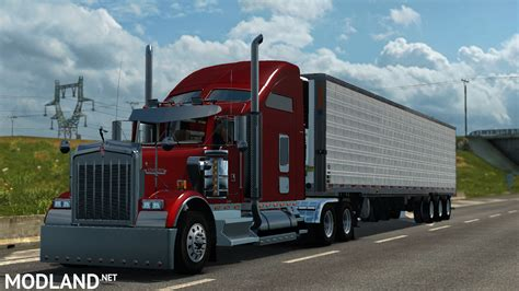 kenworth trailers kenworth w900 v 2 0 mod for ets 2