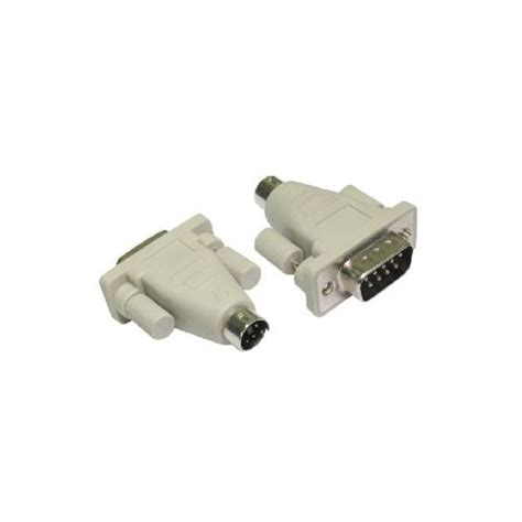 Murah Connector Ps 2 To Din Connector Ps 2 To Din gp203 9 pin to 6 pin mini din ps 2 converter adapter ebay