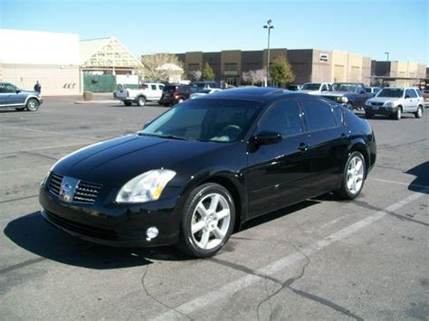 2006 Nissan Maxima Se by Buy Used 2006 Nissan Maxima Se Sedan 4 Door 3 5l In Las