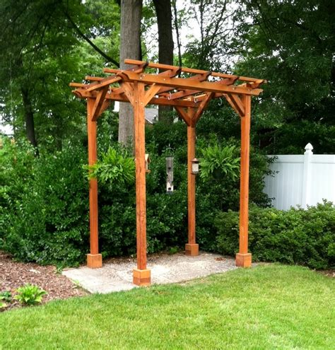 small pergola kits built to last decades forever redwood