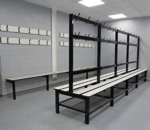 sports bench seating changing room bench seating from continental sports