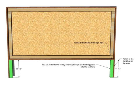 king bed headboard plans download make king headboard plans free