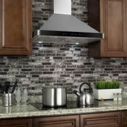Kitchen Island Vent Hoods akdy 30 inch wall mount stainless steel kitchen vent range