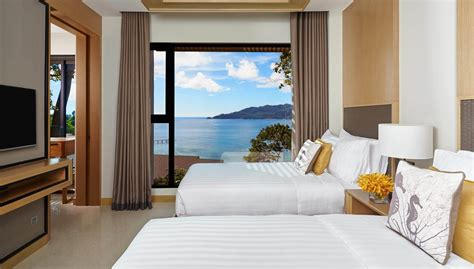 hotels with two separate bedrooms two bedroom suite ocean facing amari phuket