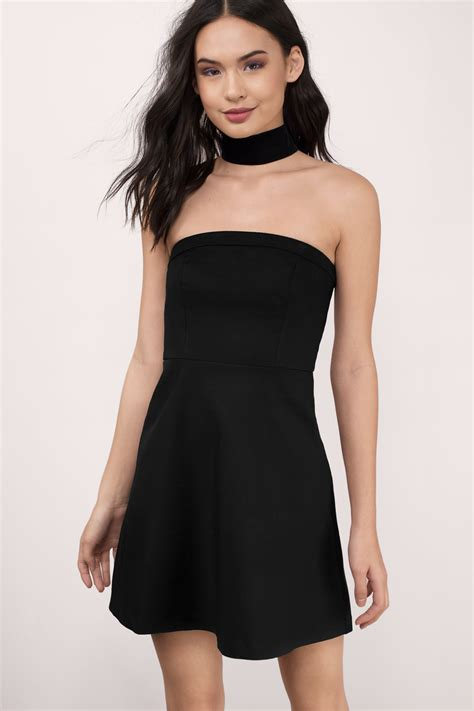 Strapless Dresses by Ivory Skater Dress Strapless Dress 12 00