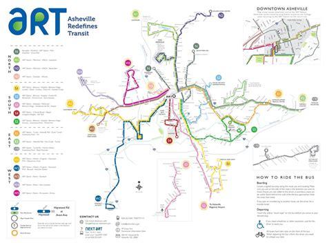 ashville nc map asheville transit authority routes maplets