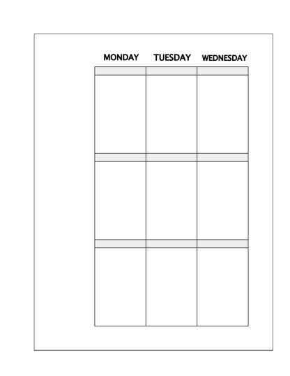 Faux Happy Planner Inserts Free Planner Printable Plannerproblem Happy Planner Template