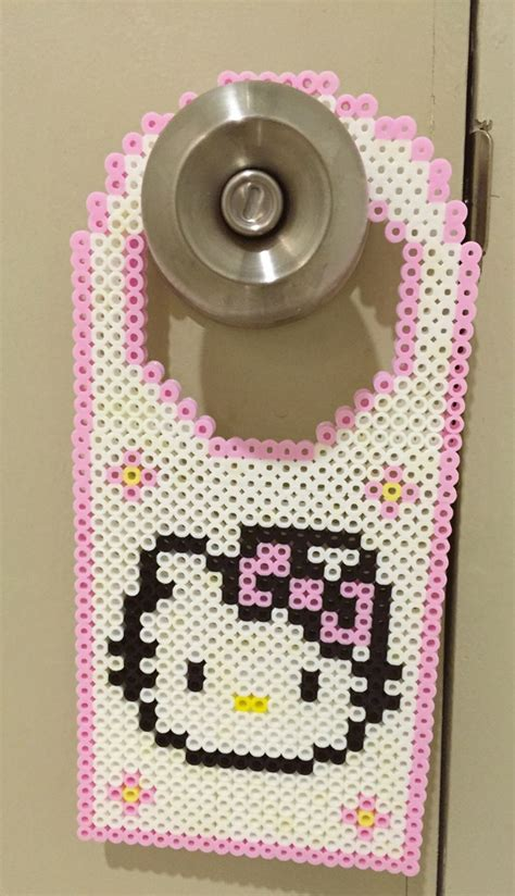 Hanger Hello 17 best images about hello on perler