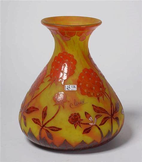 Le Vase by Chader Et Le Verre Francais Vase De Style D 233 Co En Verr