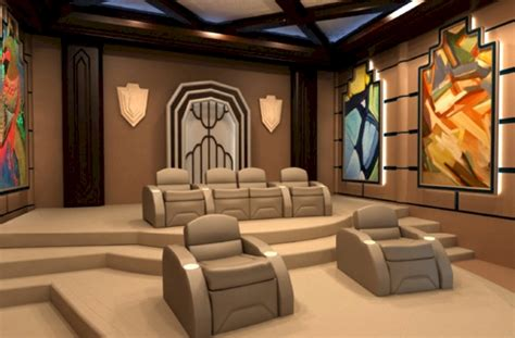 luxury custom home theater seating