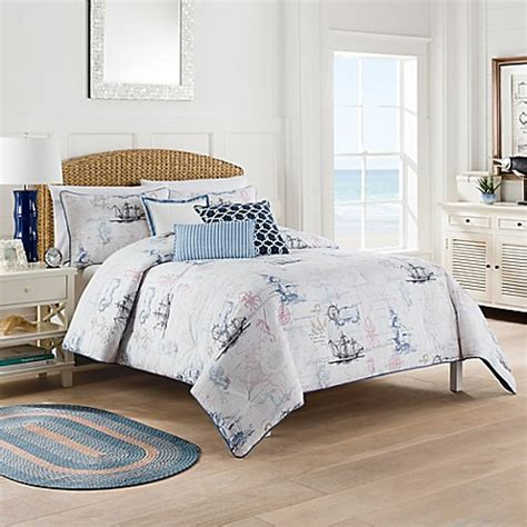 bed bath beyond bedding nautical map comforter set bed bath beyond