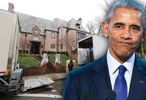 what on earth obamas are moving to hawaii in january 2013 movers arrive at president obama s new 5 3m washington d