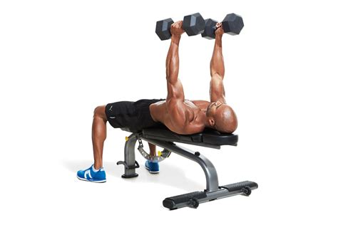 neutral grip bench press 1 1 4 neutral grip dumbbell bench press men s fitness
