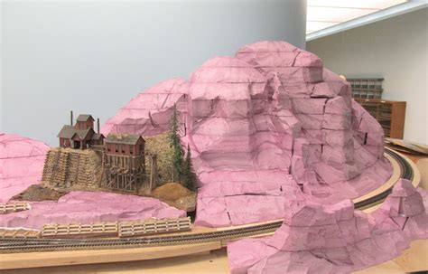 art  todd gamble massive ho scale mountain ready