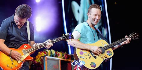 michael j fox with coldplay coldplay could play your personal request at ahfod tour asia