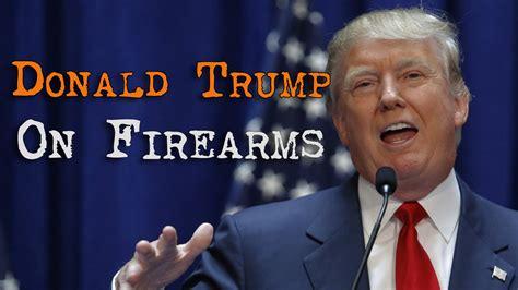 donald trump on guns trump donald trump obama gun control 2nd amendment