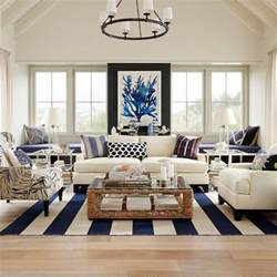 Nautical Living Room by How To Get The Hamptons Style For Less