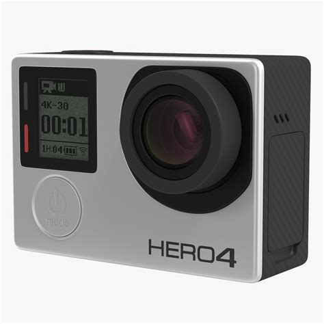gopro models 3d model gopro hero4 black edition