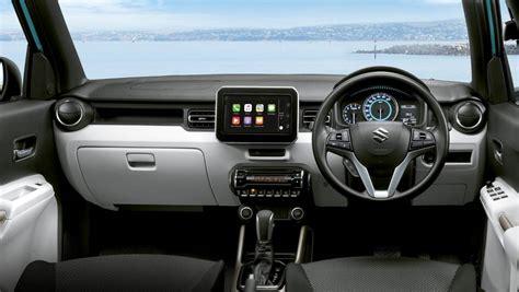 suzuki ignis   top car interior