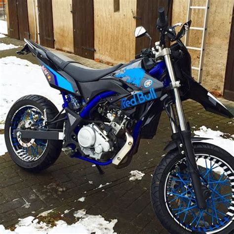 yamaha wr 125 x dekor yamaha wr 125x r supermotopower instagram photos and