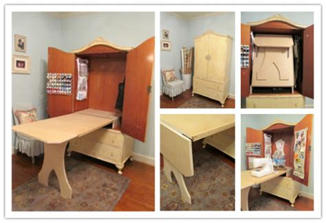 armoire sewing cabinet image gallery sewing armoire