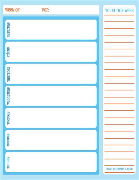 free printable weekly planner calendars 5 free printable weekly calendars ganttchart template
