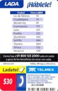 Lada De Mexico Internacional Lada Telmex Clave Lada 624 The Knownledge