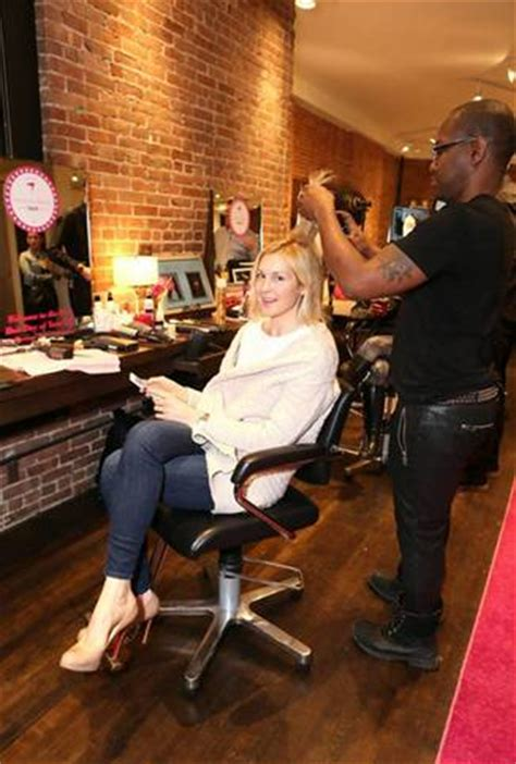 celebrty hair stylist in nyc photos the mane event during fashion week panasonic s