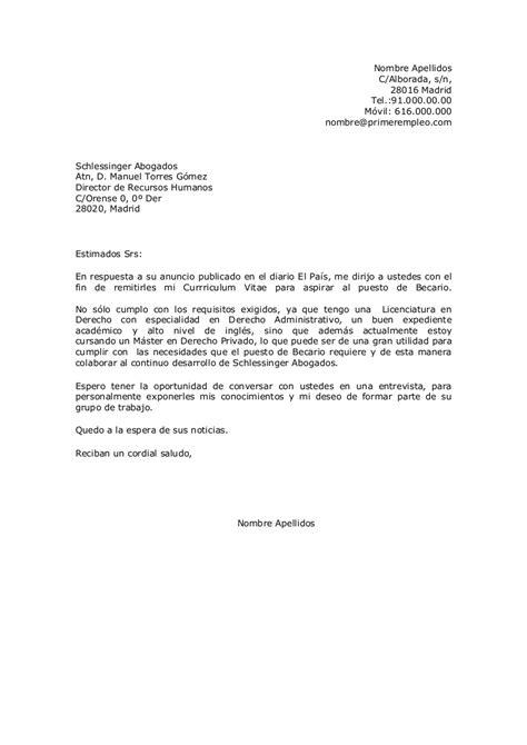 Modelo Curriculum Latinoamericano carta de presentaci 243 n y cv en idioma espa 241 ol velazquez