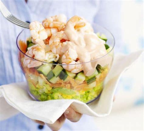 Greek Pasta Salad prawn layered salad recipe bbc good food