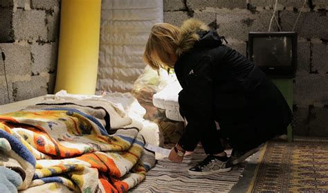 ikea syrian refugees syrian home built inside ikea store shows the awful conditions of refugees