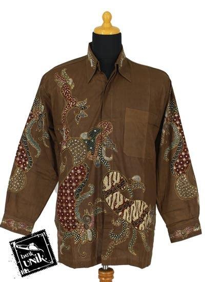 Kemeja Katun Wanita Batik Ruffles Unik Lengan Panjang Bpa24 kemeja batik tulis lengan panjang katun motif pulo peksi