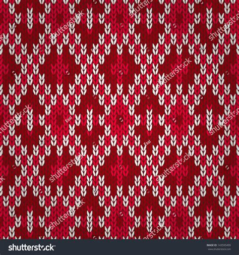 christmas pattern knit fabric seamless christmas red knitted pattern style knit woolen