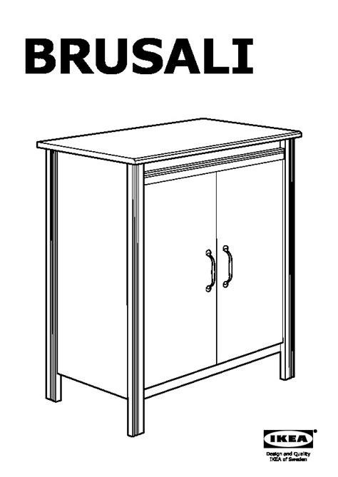 brusali cabinet brusali cabinet with doors white ikea canada english