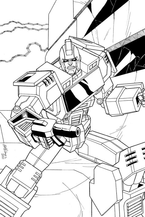 how to draw ironhide