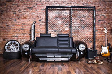 classic car couch vintage car part furniture blue ant studio
