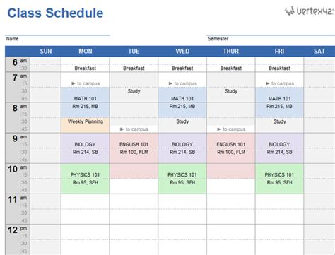 download the latest version of easy schedule maker free in english
