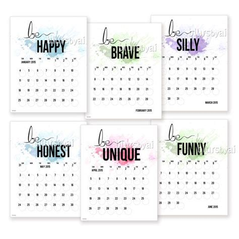 printable calendar quotes 2015 2014 printable calendar planer quot be you