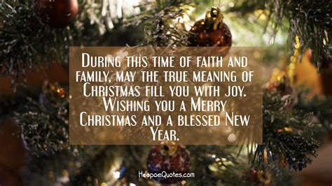 time  faith  family   true meaning  christmas fill   joy